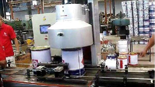 GT4A19YS自动封罐机